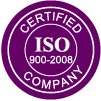 ISO 27001: 2031 & 2001 - 2008  ertified company